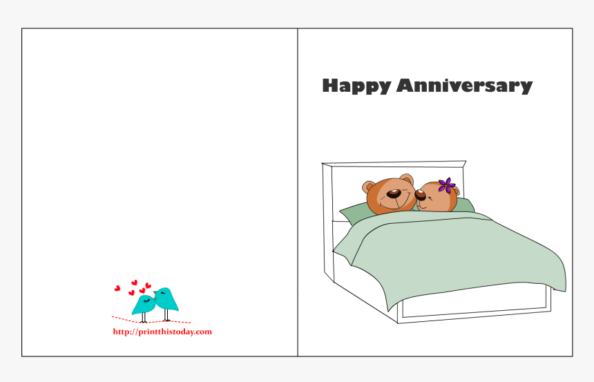 This is a photo of Printable Anniversary Card throughout greeting card