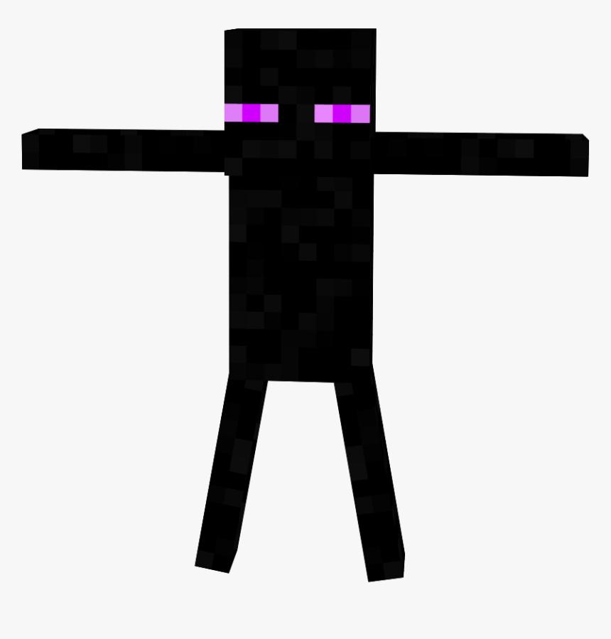 Minecraft Skins Enderman In A Suit Layout Cross Hd Png Download Transparent Png Image Pngitem