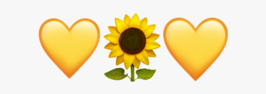 #sunflower #emoji #iphone - Sunflower Emoji Iphone Png ...