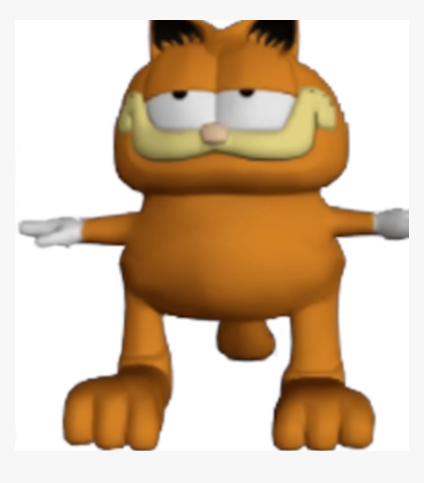 Garifield T Posing Oof Garfield Tpose Tposetuesday Transparent Garfield T Pose Hd Png Download Transparent Png Image Pngitem