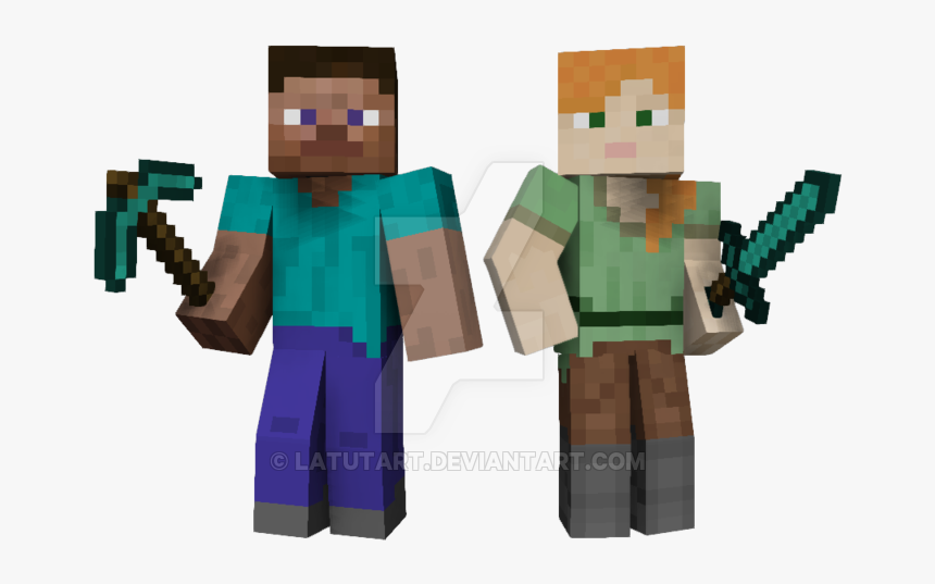 Minecraft Steve Png Mining Do Gooders Steve Alex Minecraft Characters Transparent Png Transparent Png Image Pngitem