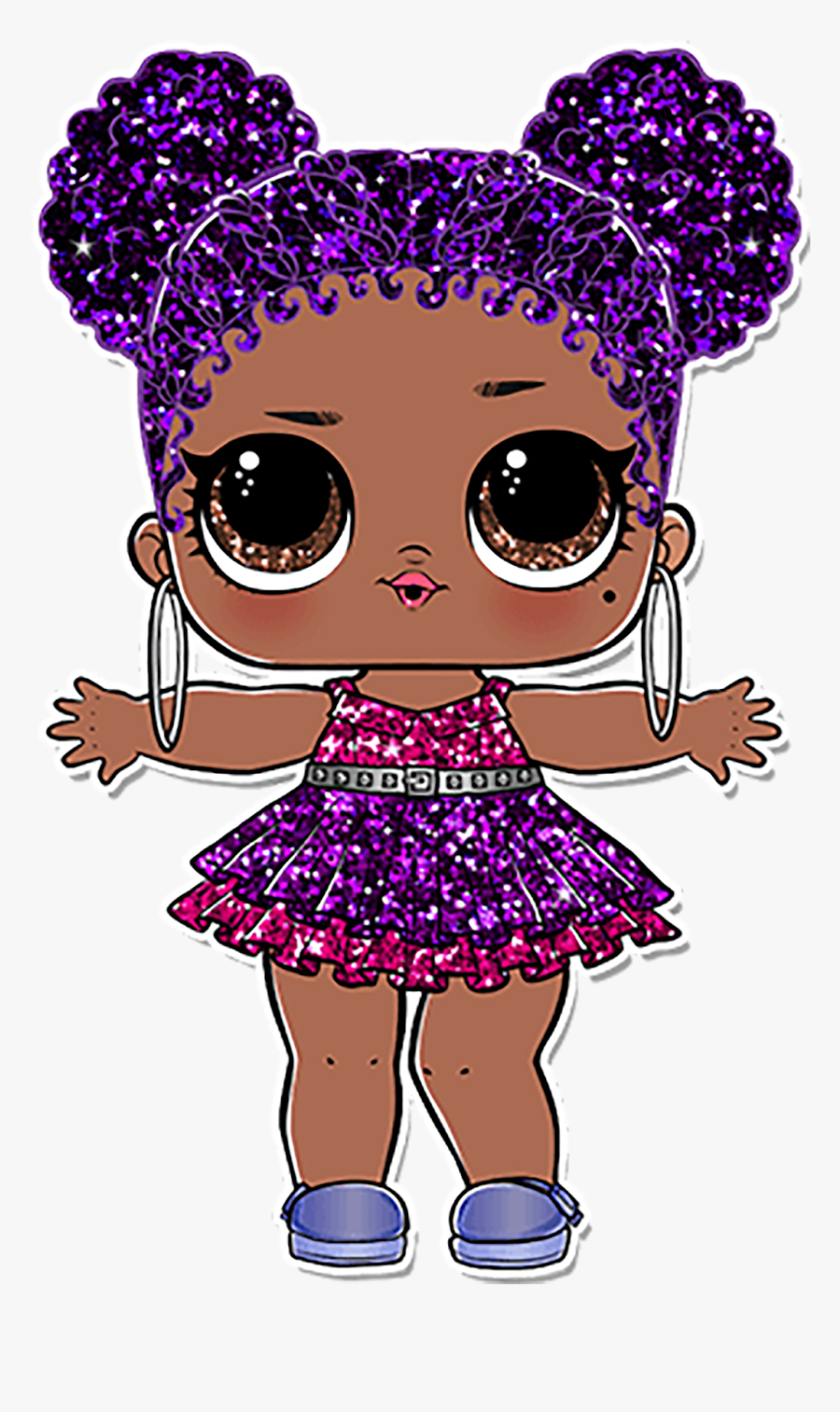 Lol Surprise Purple Queen Hd Png Download Transparent Png