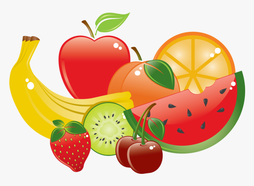 Fruits Clipart Collage Fresh Fruits Clipart Hd Png Download Transparent Png Image Pngitem