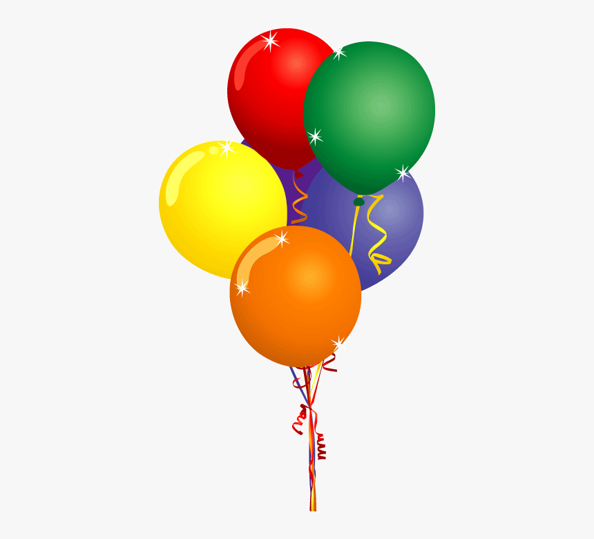 Free Birthday Balloons Clip Art Pictures Birthday Balloons Clipart Hd Png Download Transparent Png Image Pngitem