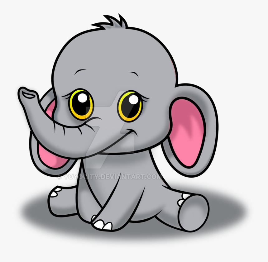 Nursery Drawing Baby Elephant Elephant Cute Animals Cartoon Hd Png Download Transparent Png Image Pngitem