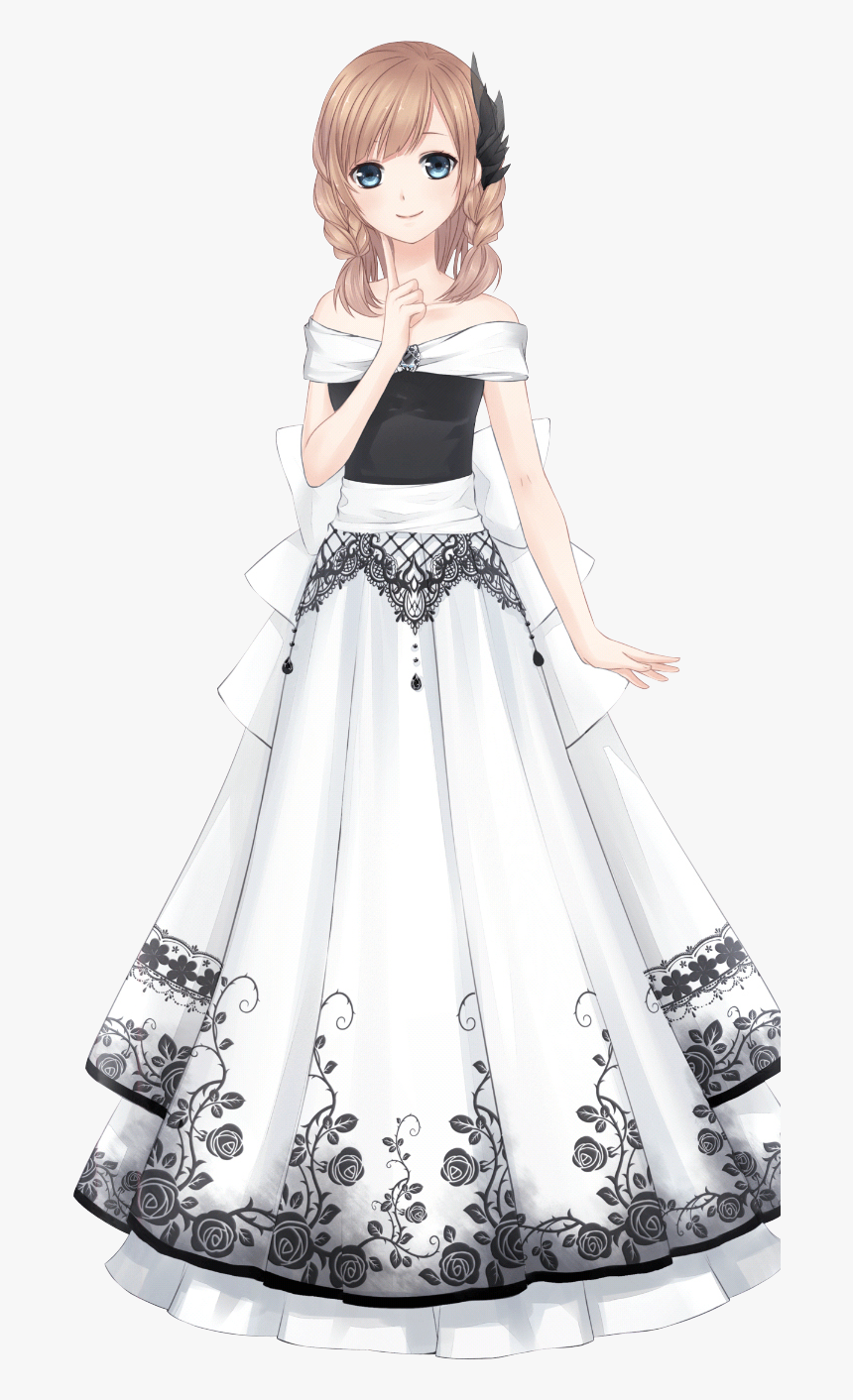 Anime Girl In Dress