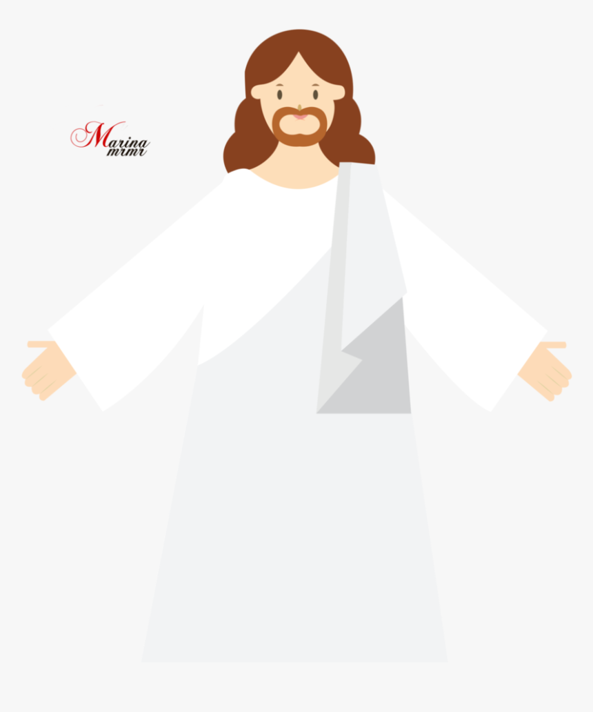 Cartoon Jesus Png Illustration Transparent Png Transparent Png Image Pngitem