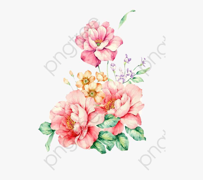 Free Commercial Use Clipart Flower Floral Watercolor Water Paint Flower Png Transparent Png Transparent Png Image Pngitem