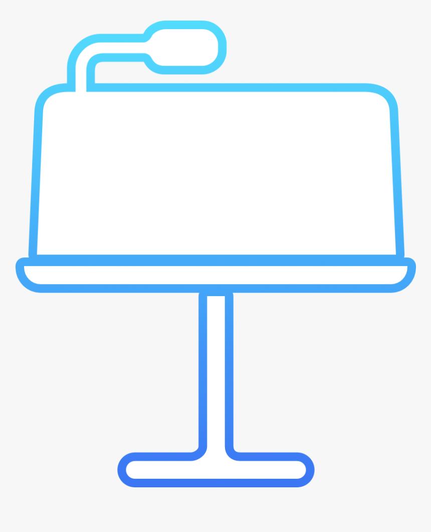 Apple Keynote Icon Sign Hd Png Download Transparent Png Image Pngitem