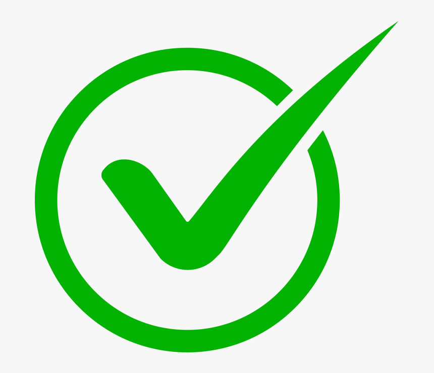 Check - Green Check List Icon, HD Png Download , Transparent Png ...