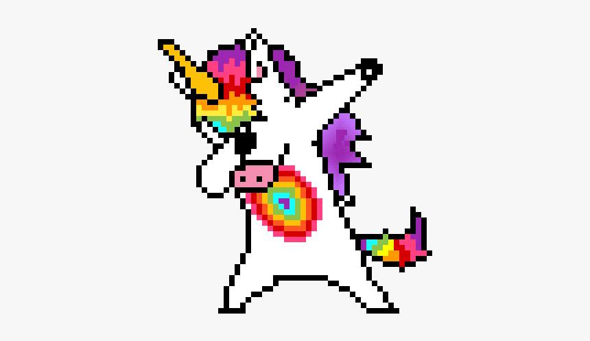 Unicorn Dab Pixel Art Hd Png Download Transparent Png