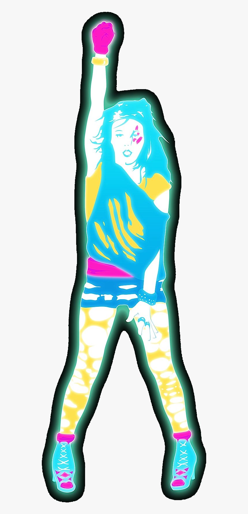 Just Dance Tik Tok Just Dance 2 Tik Tok Hd Png Download Transparent Png Image Pngitem
