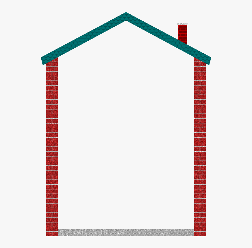 House Border - House Frame Clipart, HD Png Download ... (860 x 847 Pixel)
