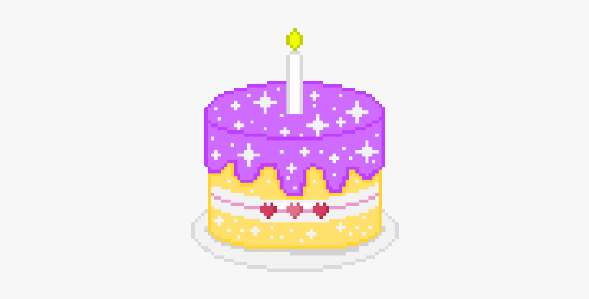 Astounding Sparkly Birthdaycake Birthday 8Bits Happy Birthday Gif Funny Birthday Cards Online Alyptdamsfinfo