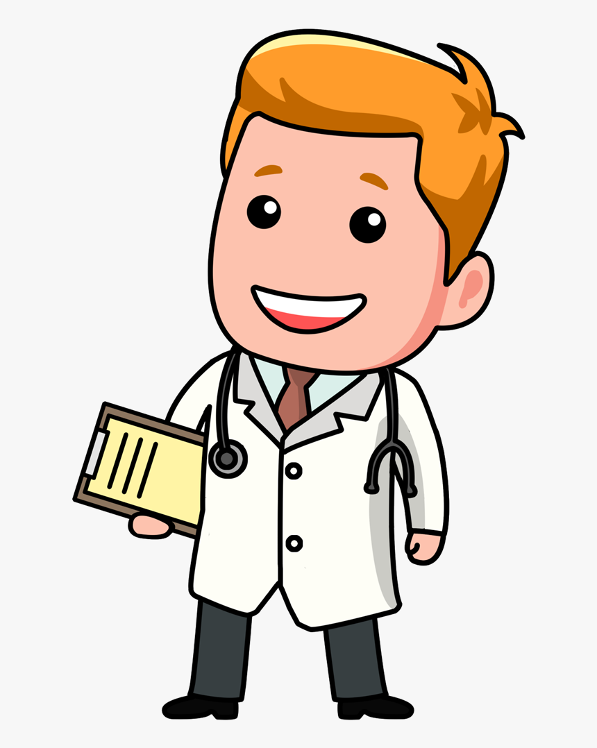Doctor Logo Cliparthot Of The More And Animasi Dokter Gambar Dokter Kartun Png Transparent Png Transparent Png Image Pngitem