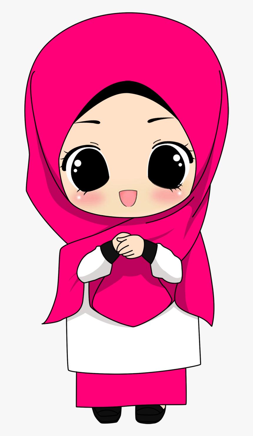 Gambar Kartun Muslimah Png 1 Png Image Hijab Cartoon Png Transparent Png Transparent Png Image Pngitem