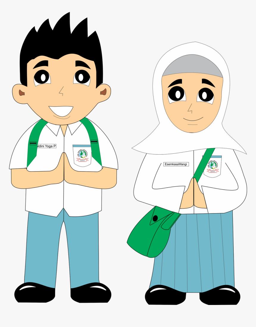 Gambar Kartun Muslim Lelaki Gambar Kartun Anak Sma Kartun