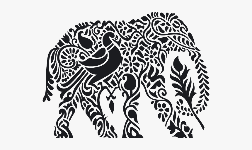 Colorful Indian Elephant Design Hd Png Download Transparent Png Image Pngitem Download elephant png images transparent gallery. colorful indian elephant design hd png