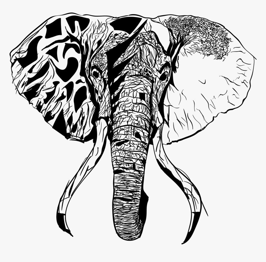 Drawing Elephants Head Transparent Elephant Sketch Png Png Download Transparent Png Image Pngitem Cartoon illustration, cute little gray like transparent background png clipart. transparent elephant sketch png png