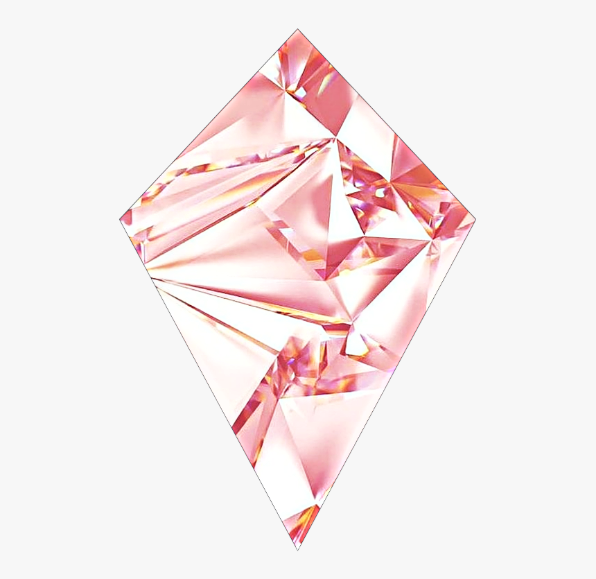 Diamond Pink Sticker Deco Decorations Rose Gold Cute