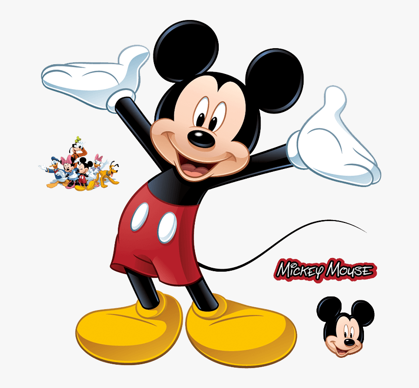 Mickey Mouse Cartoon Drawing In Colour Hd Png Download Transparent Png Image Pngitem