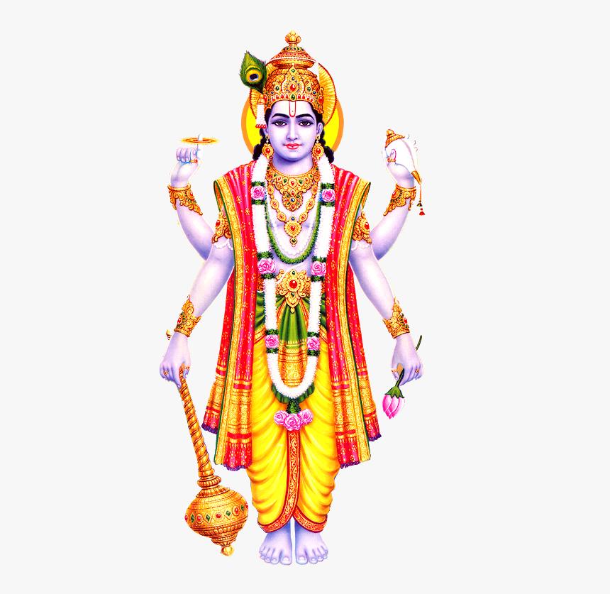 Vishnu Hindu God, HD Png Download , Transparent Png Image - PNGitem