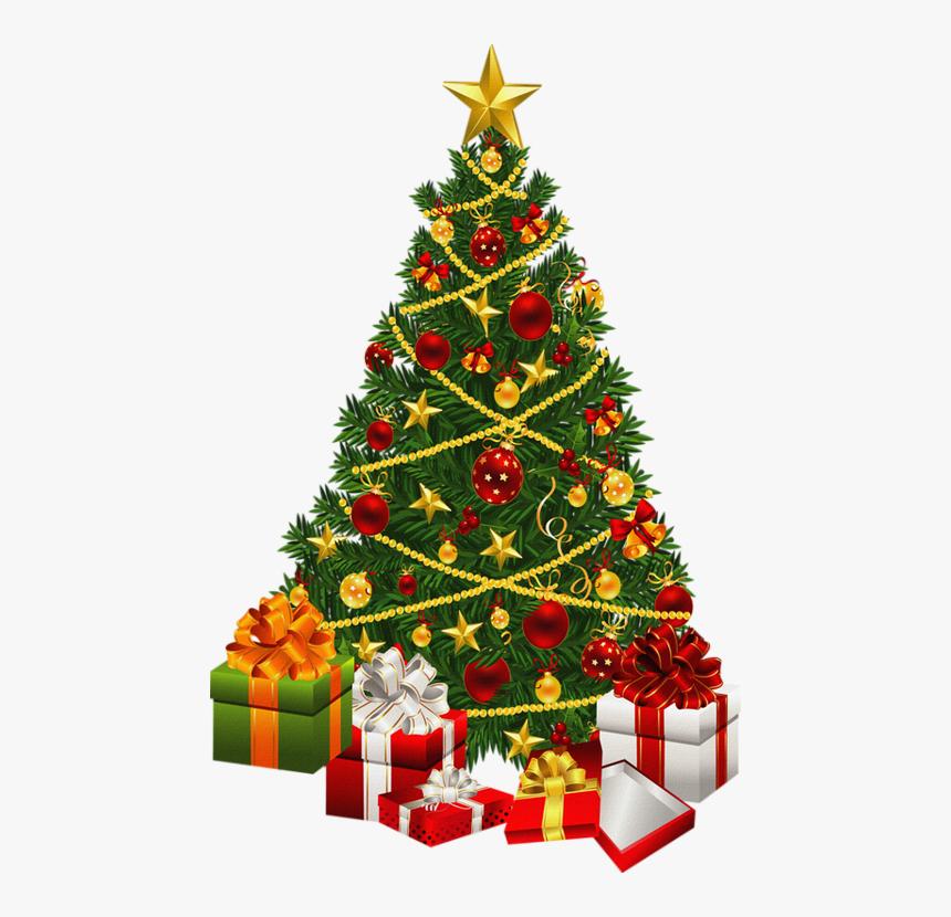 Sapin De Noël Png Tube Christmas Tree With Gift