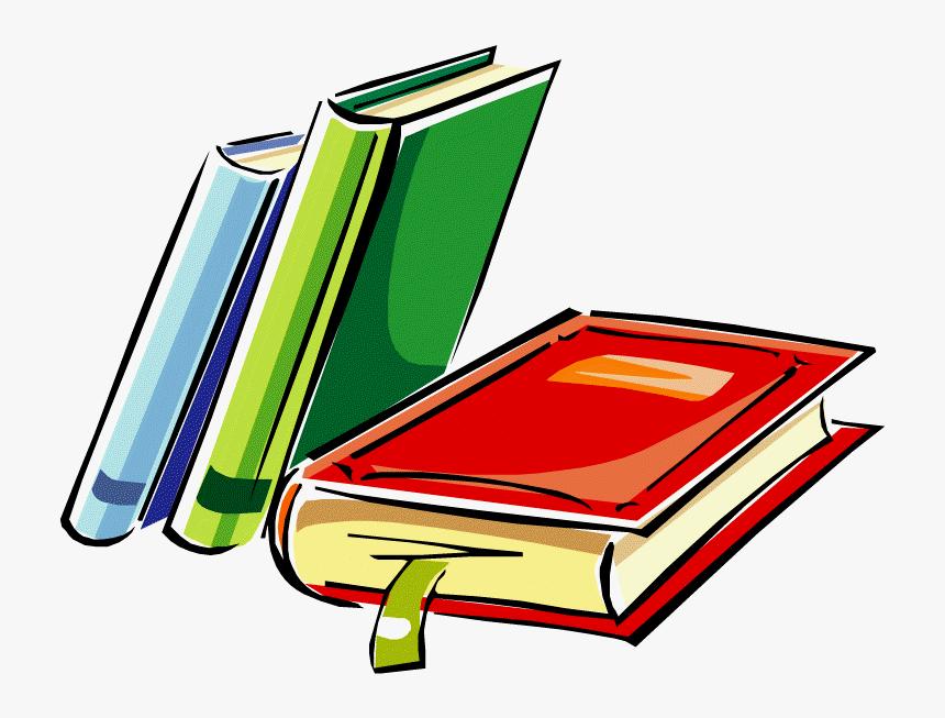 School Books Clipart - Library Clip Art Free, HD Png Download , Transparent  Png Image - PNGitem