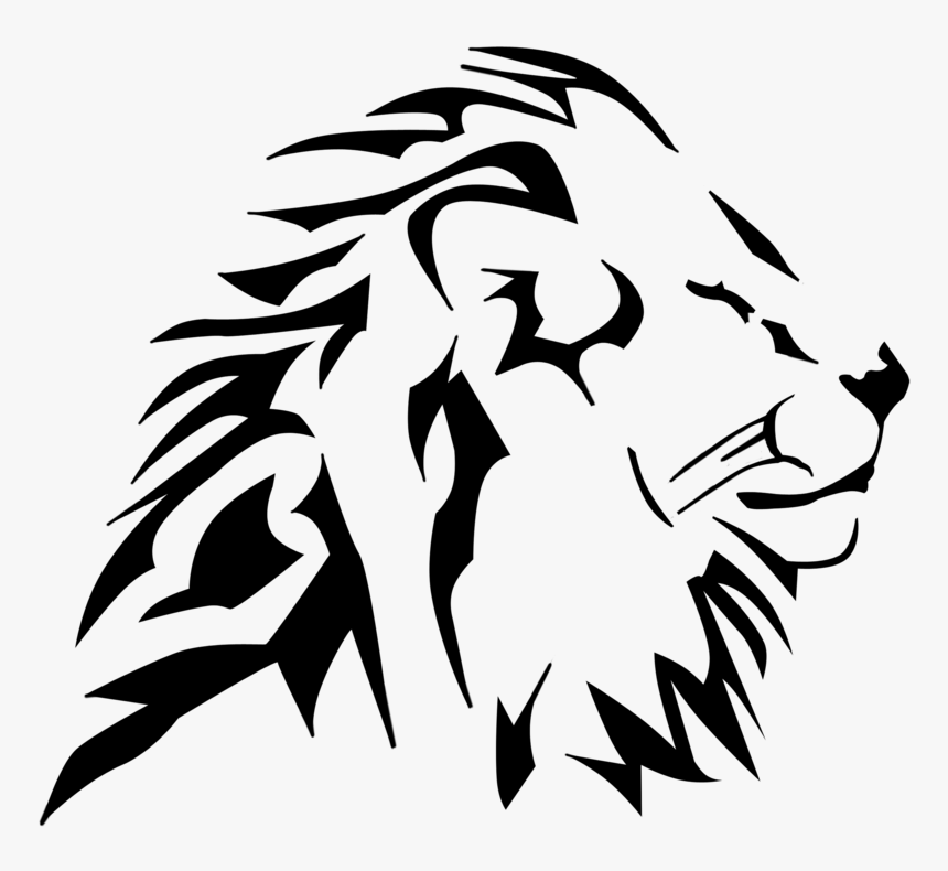 Lion Tribal By Customstyle By Dracos007 On Clipart Lion Head Vector Png Transparent Png Download Transparent Png Image Pngitem Gray wolf stencil silhouette art, wolf head outline png. lion head vector png transparent png
