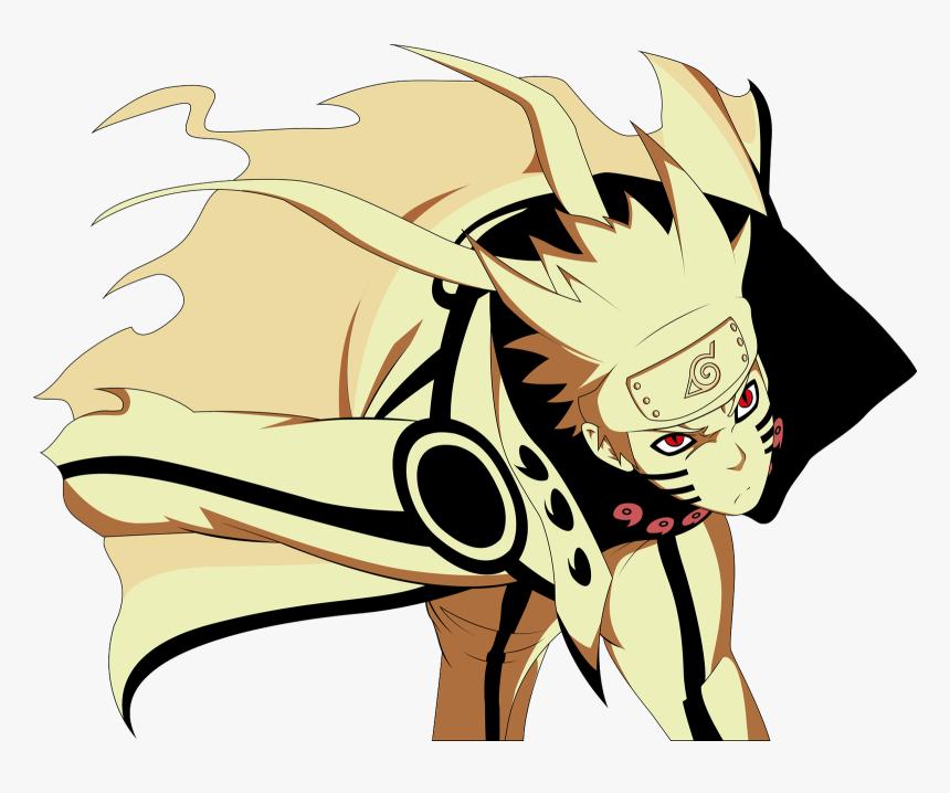 Nine Tailed Fox Naruto Sage Mode Png Naruto Nine Tails Transparent Png Transparent Png Image Pngitem
