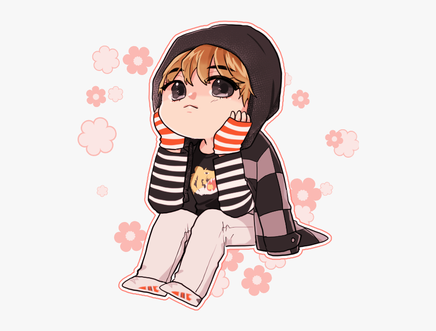 516 5167544 foto de taehyung bts fanart chibi cute springday