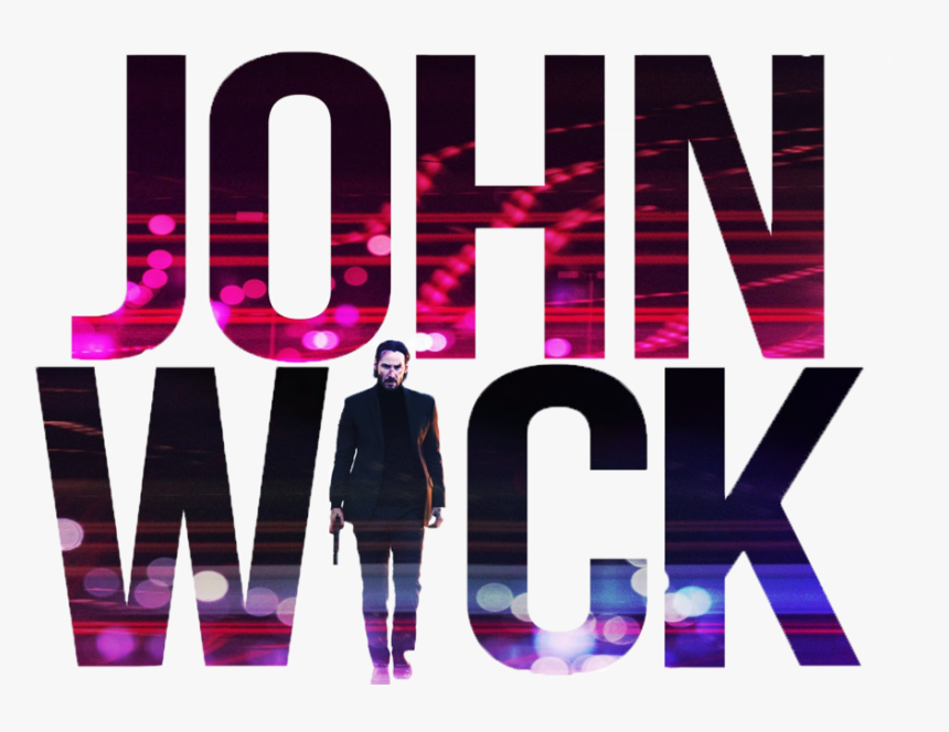 Johnwick Johnwick2 Film Logo Text Freetoedit John Wick Hd Png Download Transparent Png Image Pngitem
