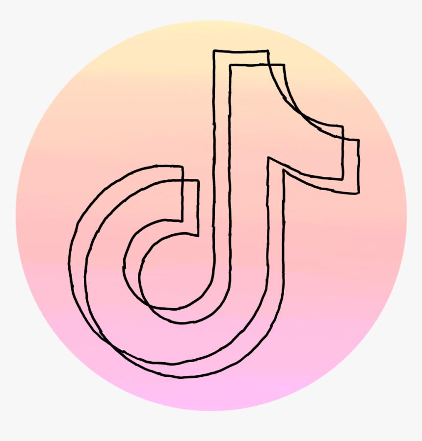 Tiktok Logo Farbverlauf Umriss Gemalt Pink Tik Tok Logo Hd Png Download Transparent Png Image Pngitem