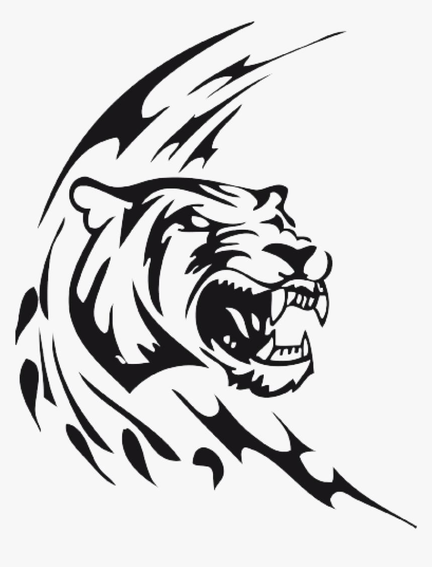 Dessin A Colorier Tigre Blanc Imprimer Title Coloriage Hd Png