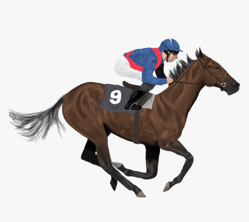 Horse Racing Clipart Horse Race Track - Clipart Racing Horses, HD Png  Download , Transparent Png Image - PNGitem