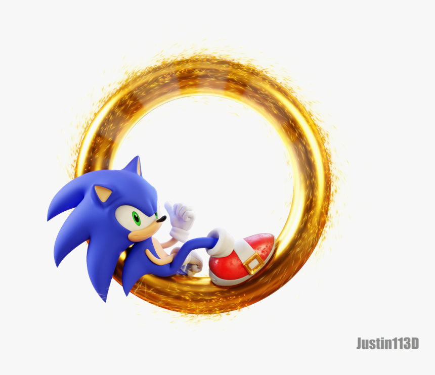 Sonic The Hedgehog Ring Hd Png Download Transparent Png Image Pngitem