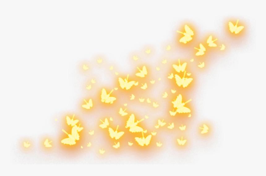 Butterflies Mariposas Resplandor Shine Gleam Brillo Gold Glow Butterfly Png Transparent Png Transparent Png Image Pngitem
