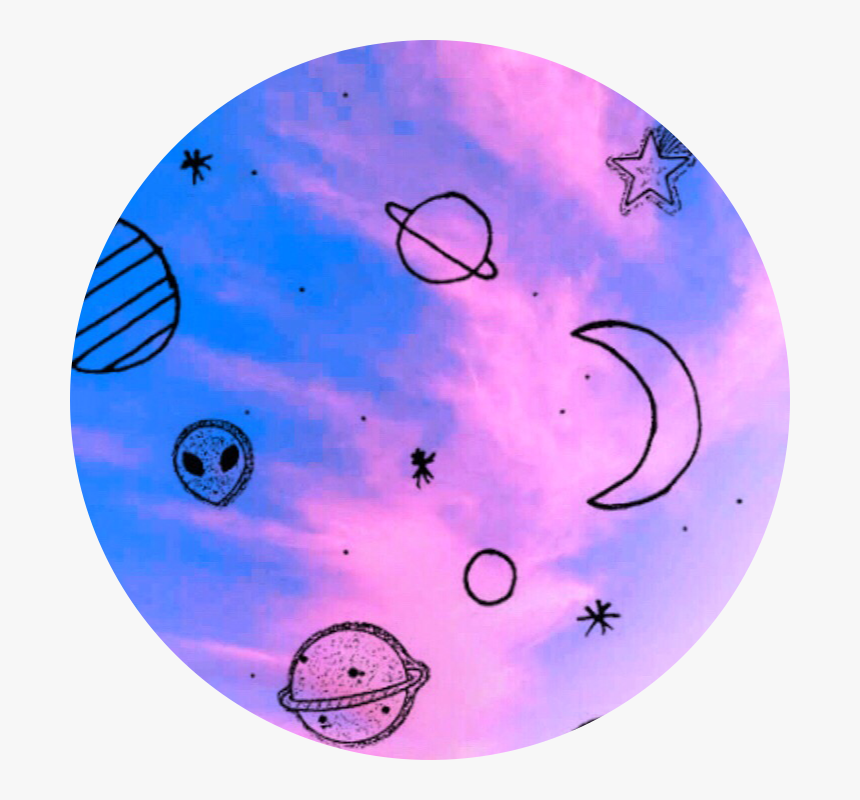 519 5194582 galaxy alien space circle background tumblr aesthetic circle