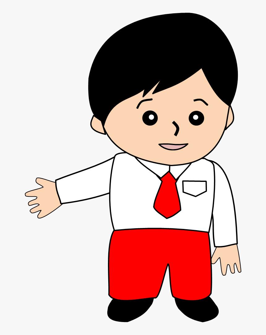 Animasi Anak Sekolah Sd HD Download Transparent