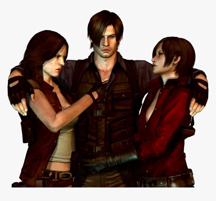Resident Evil 6 Helena Y Leon Hd Png Download Transparent Png