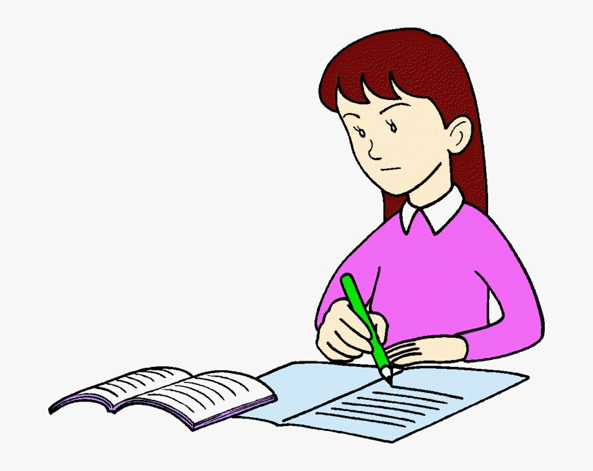 Person Writing A Letter from www.pngitem.com
