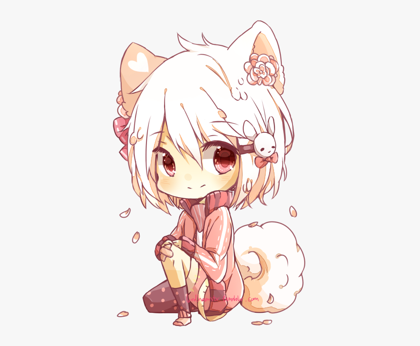Chibi Kawaii Characters Anime, HD Png Download , Transparent Png ...