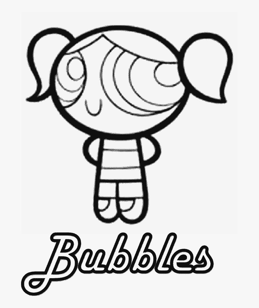 - Powerpuff Girls Blossom Coloring Page - Powerpuff Girls Bubbles