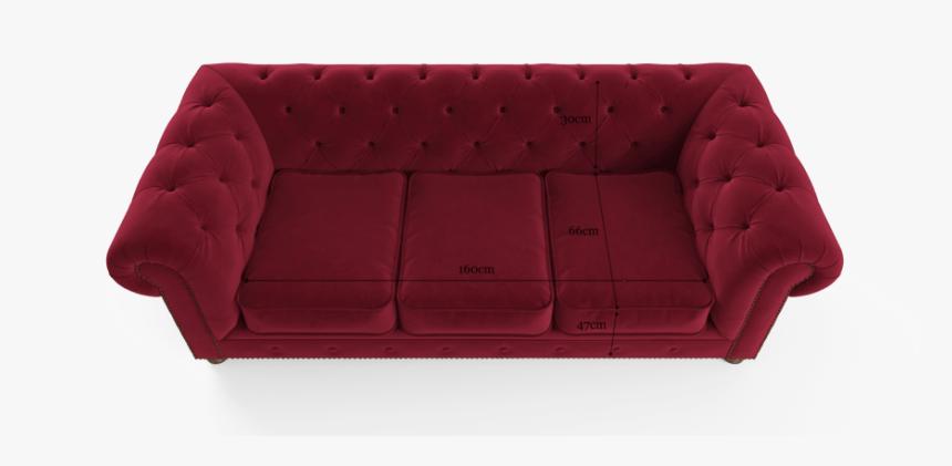 Velvet Chesterfield 3 Seater Sofa Bed