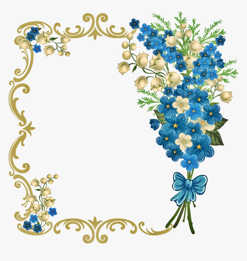 Blue Wedding Invitation Background Hd Hd Png Download Transparent Png Image Pngitem