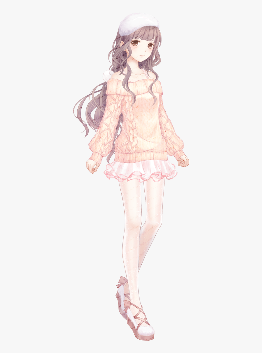 Cute Sweater Anime Outfits, HD Png Download , Transparent Png