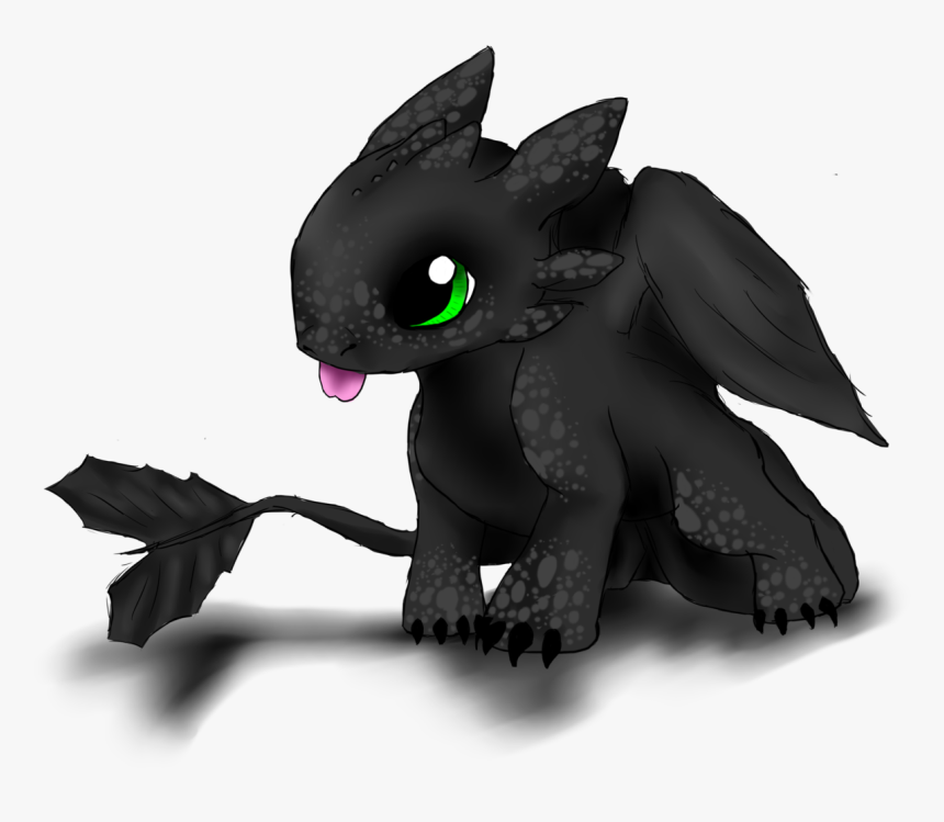 Drawing Of Baby Toothless Hd Png Download Transparent Png Image Pngitem