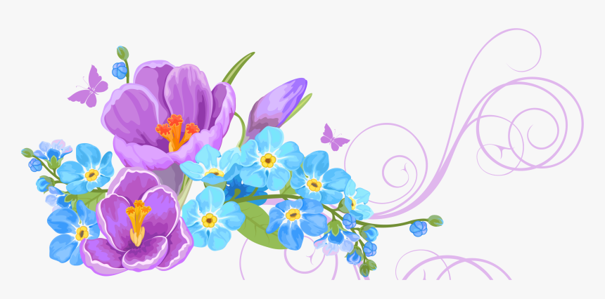 Flower Background Png Download Floral Vector Background Png