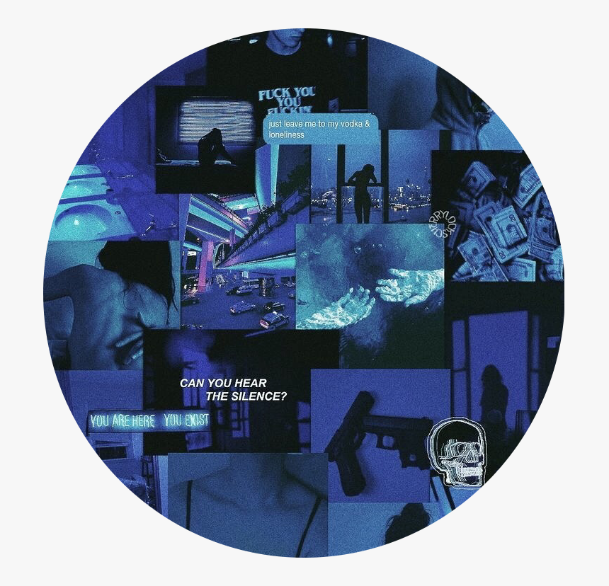 522 5225634 background aesthetic neon blue black dark edit aesthetic