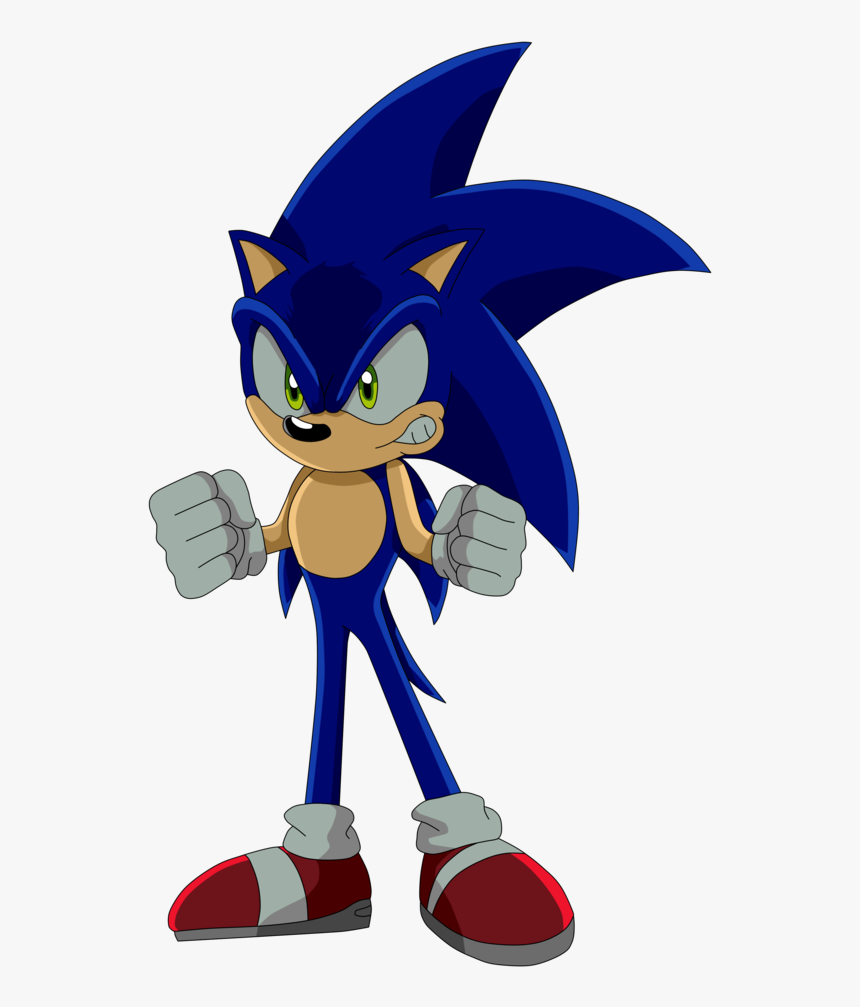 Angry Transparent Sonic Sonic The Hedgehog Angry Sonic Hd Png Download Transparent Png Image Pngitem
